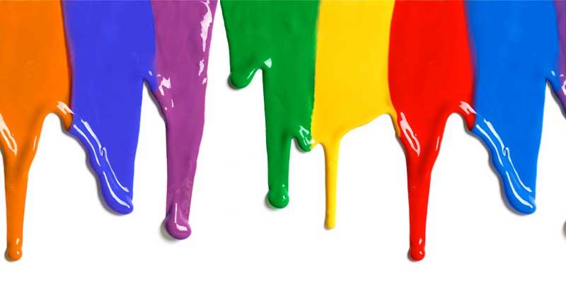 اجزای تشکیل دهنده رنگ و مراحل تولید رنگ